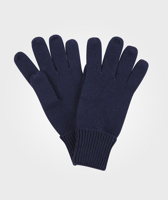 Reima Gloves Skur Navy Blue Blue