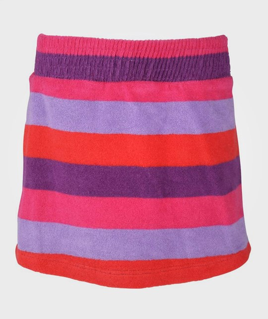 Ej sikke lej Terry Striped Skirt Plum Purple