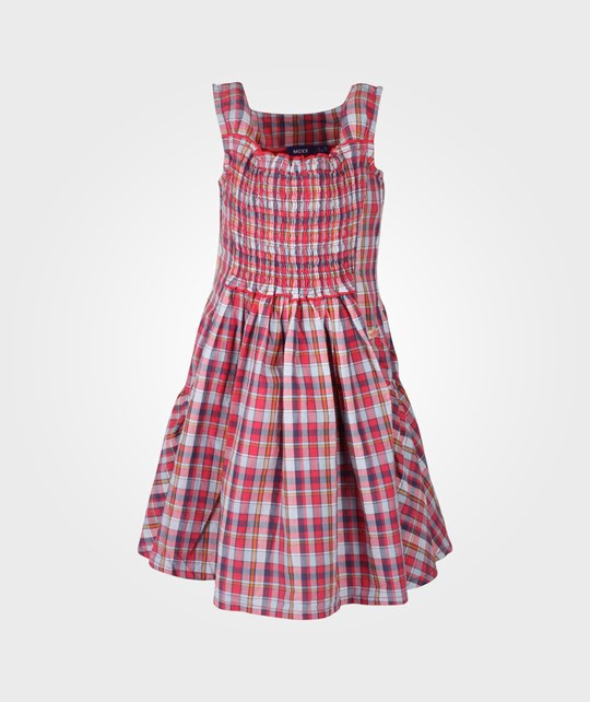 Mexx Kids Girls Dress Checkered Pink