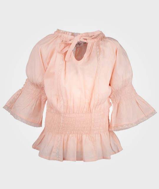 How To Kiss A Frog Lilian Blouse Peach Pink