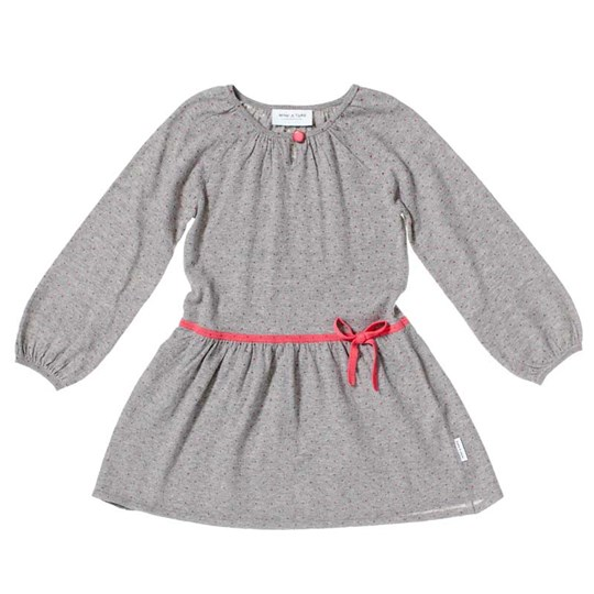 Mini A Ture Ziri Dress Grey Melange Black