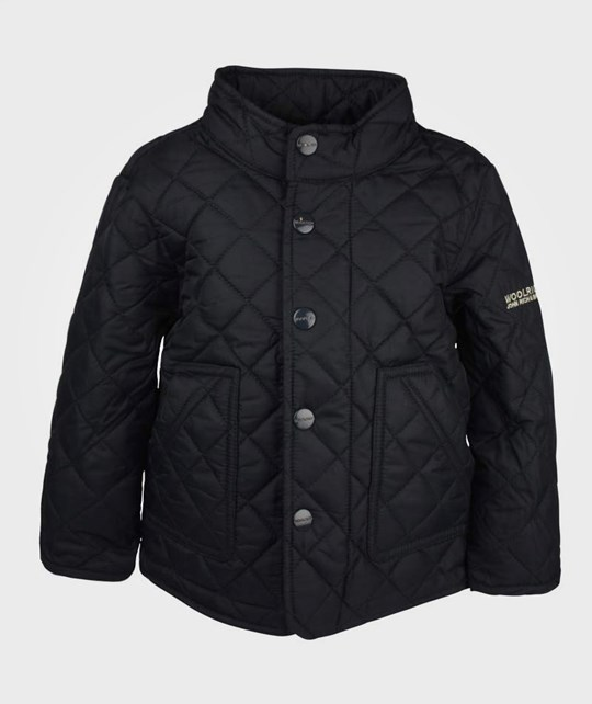 Woolrich Early Spring Jacket Navy Blue