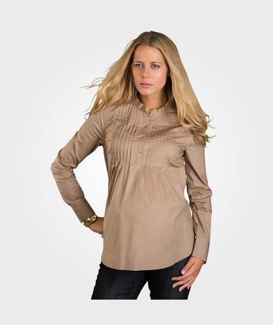 Mom2Mom Soft Shirt Vanity Latte BROWN