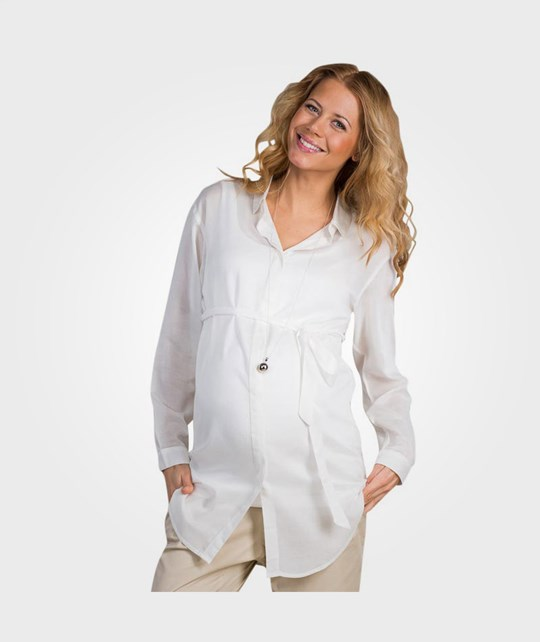 Mom2Mom Maxishirt Cream  Beige