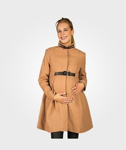 Mom2Mom Cashmere Coat Design Latte