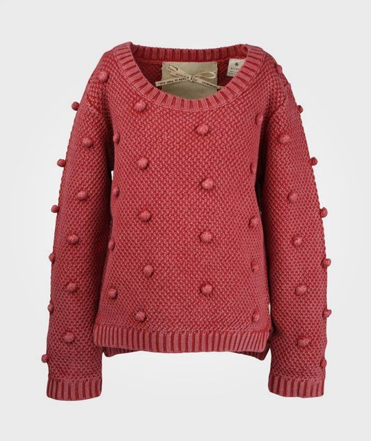 Scotch R'belle Chunky Knitted Pull Red Punainen