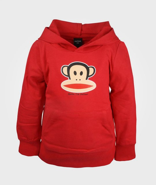 Paul Frank Hoodie With Pouch Red Red