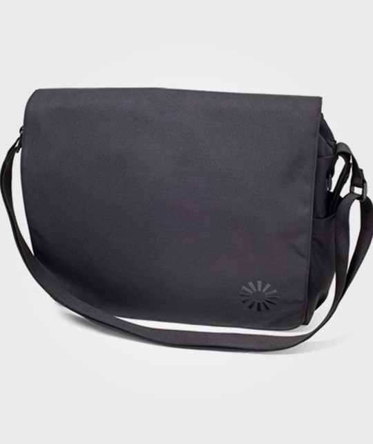 BRIO Diaper Bag Messenger Black Multi