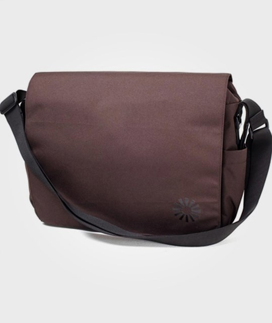 BRIO Diaper Bag Messenger Brown Multi