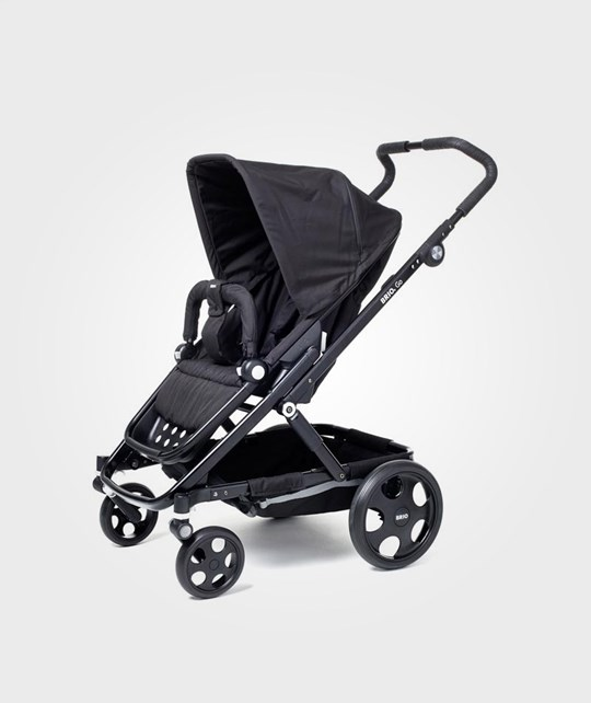 BRIO Go Stroller Black With Black Chassi
