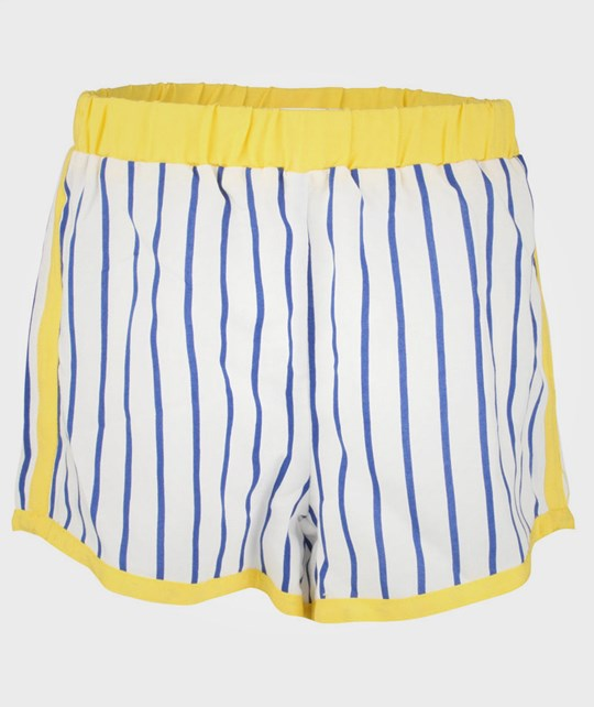 Mini Rodini Stripe Shorts White  White