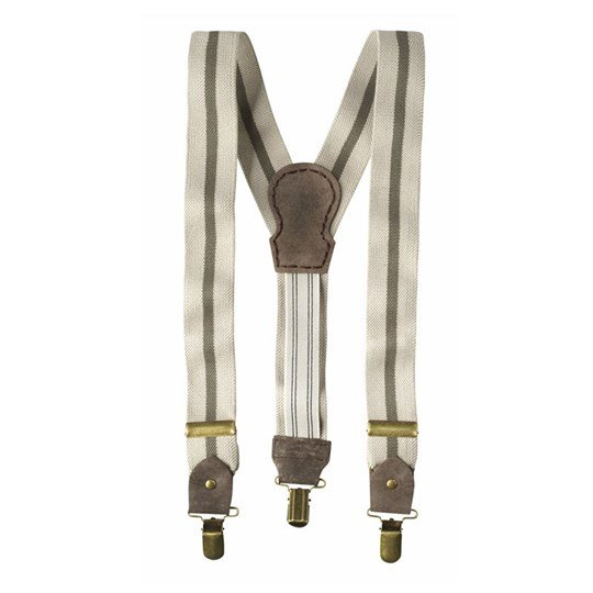 Scotch & Soda Suspenders Beige Beige