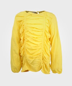 Mini Rodini Drape Blouse Yellow