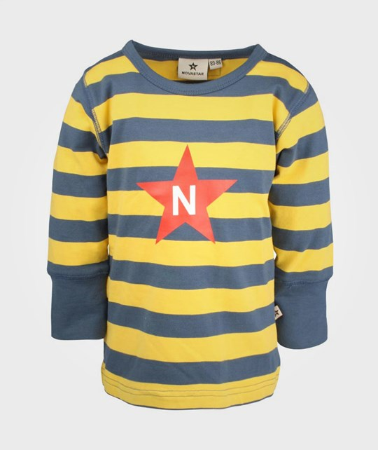 Nova Star Striped T Neptune Yellow