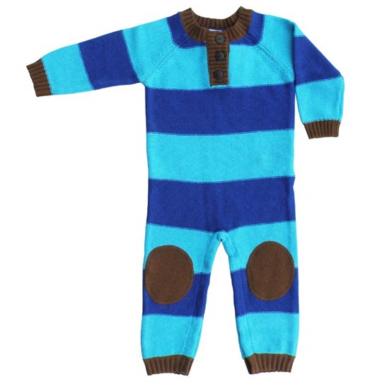 Katvig Bodysuit Bright Blue/Brown Blue