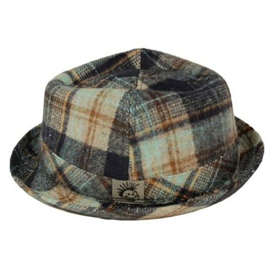 Knuckleheads Hugh Fedora Hat Multi