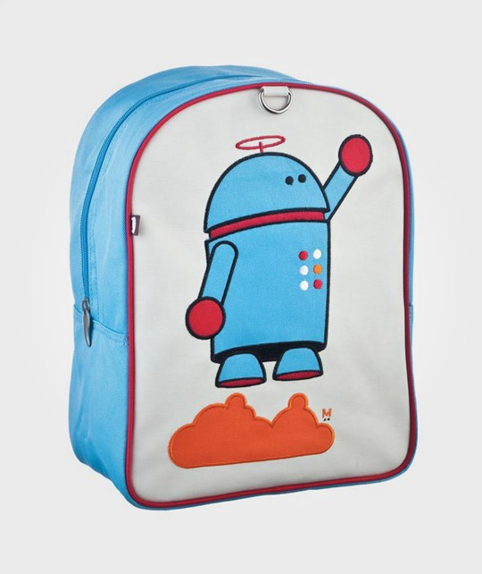 Beatrix NY Little Kid Back Pack Alexander, Robot Blue
