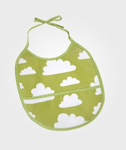 Färg & Form Clouds Bib Green