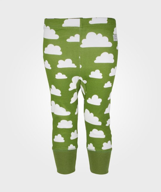 Färg & Form Pant Clouds Green Green