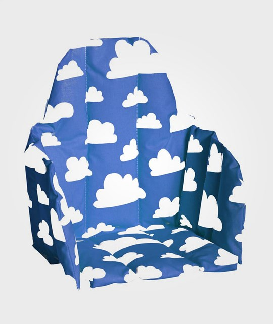 Färg & Form Cushion Babyseat Clouds Blue Blue
