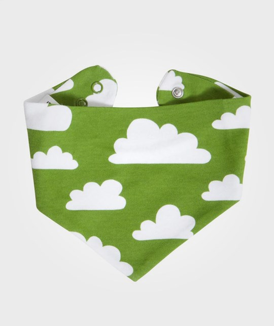 Färg & Form Scarf Clouds Green Green
