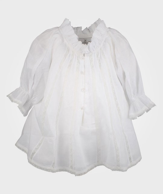 How To Kiss A Frog Riko Blouse White White