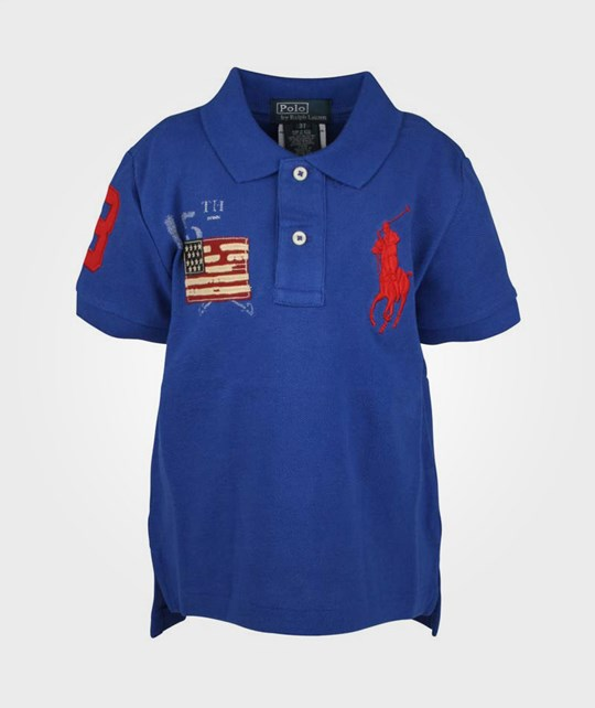 Ralph Lauren SS Big PP Polo Rugby Royal Blue