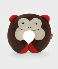 Skip Hop Zoo Neck Pillow Monkey BROWN