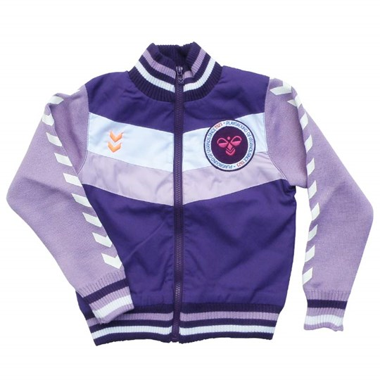 Hummel Joy Sports Jacket Purple Purple