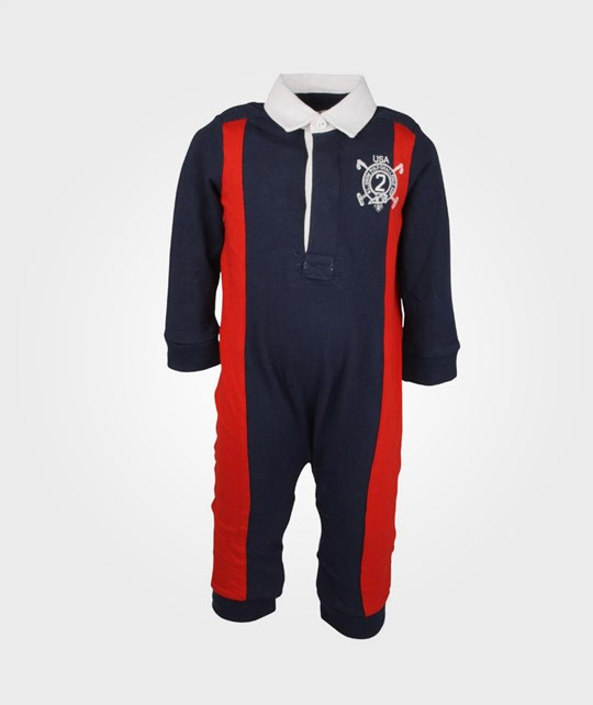 Ralph Lauren USA Rugby Coverall French Navy Blue
