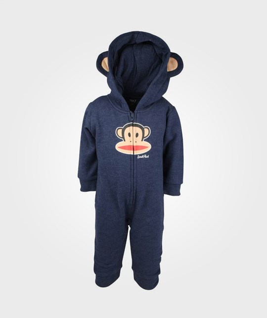 Paul Frank Fleece Coverall Hood Blue Blue