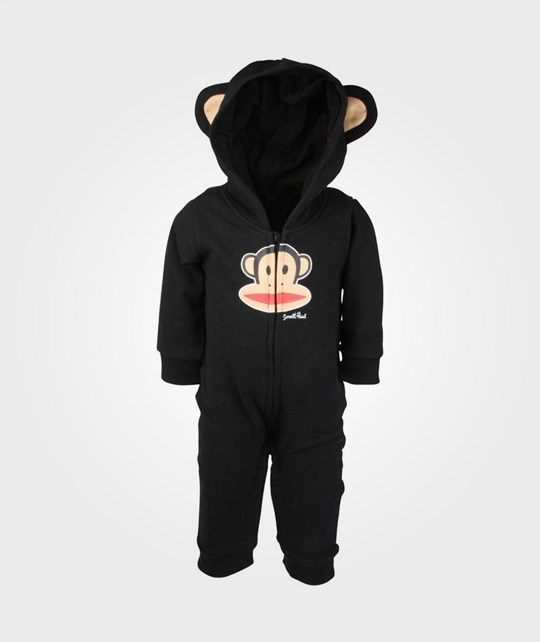 Paul Frank Fleece Coverall Hood Black Black