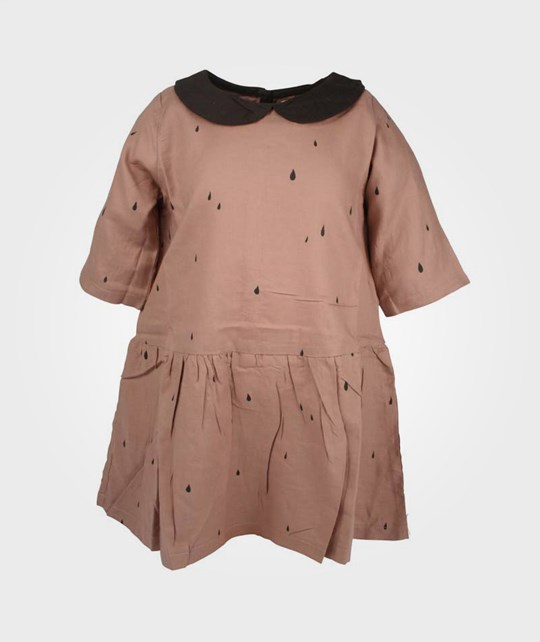 Soft Gallery Paulette Drops Dress Antler BROWN