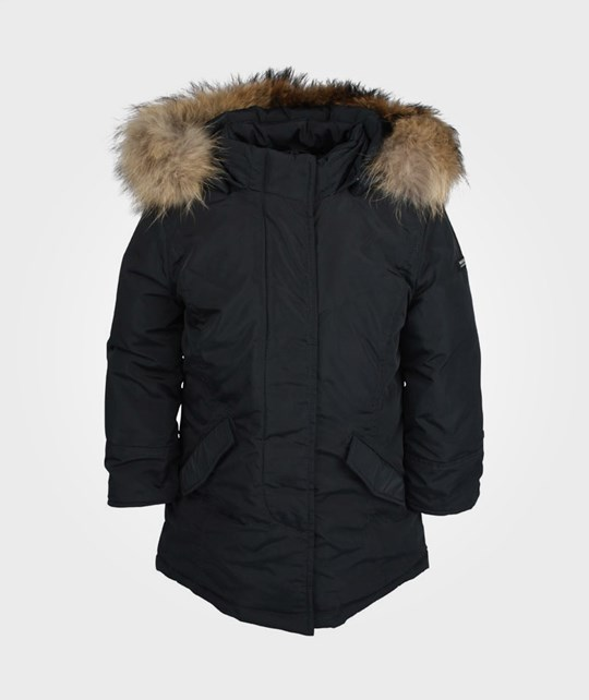 Woolrich Girl Luxury Parka Classic Navy Blue