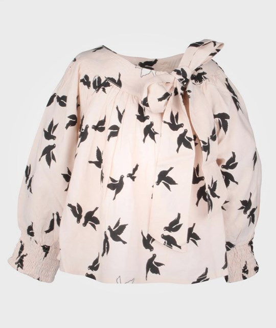 How To Kiss A Frog Tang Blouse Swallow Pink