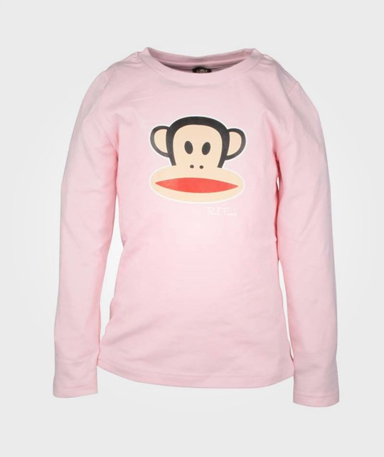 Paul Frank T-Shirt L/S Basic Girl Pink Pink