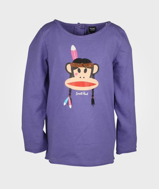 Paul Frank T-Shirt Indian Girl Violete Purple