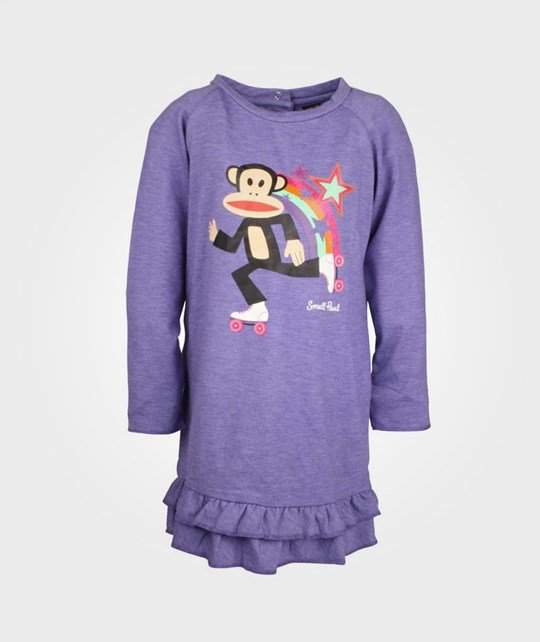 Paul Frank T-Shirt star+rollerskater Viol Purple