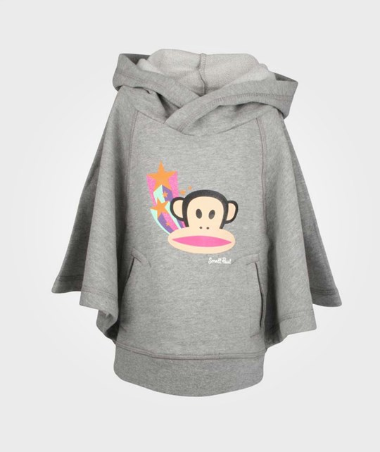 Paul Frank Fleece Mant Hood Star Grey Black