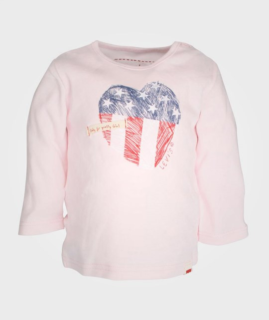 Levis Kids LS Tee Betty Rose Pale Pink