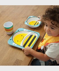 Skip Hop Zoo Plates Bee Yellow