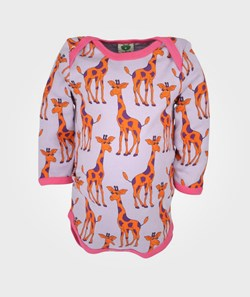 Småfolk Body Giraffes Purple