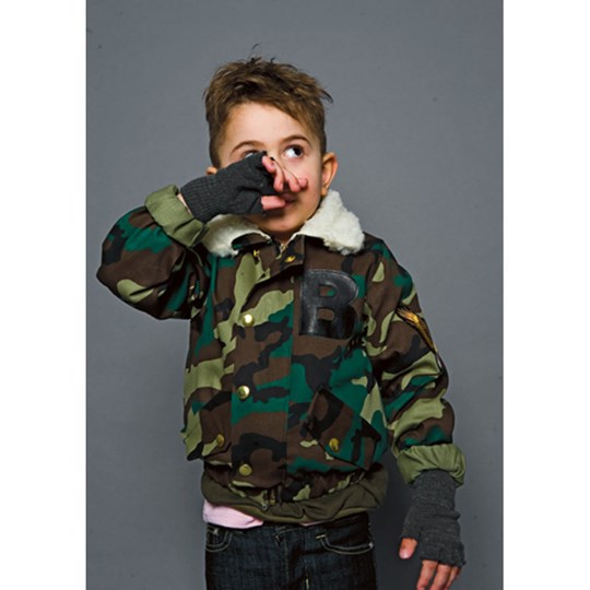 The BRAND Bomb Jacket Camo Green