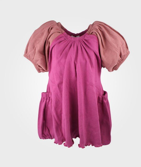 How To Kiss A Frog Basic Dress Berries/Rust Sleev Pink
