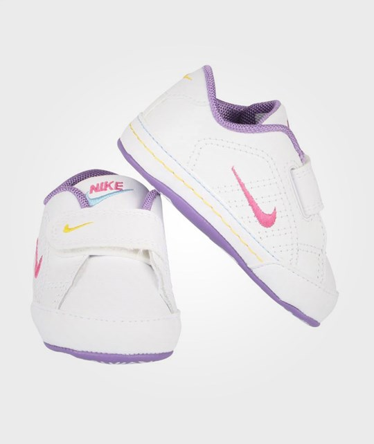 NIKE First Court Tradition Purple White