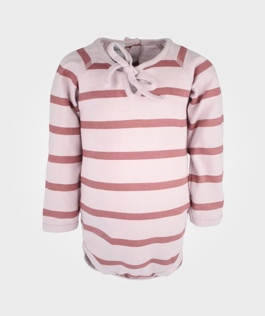 How To Kiss A Frog Basic Body Stripes Pink/Rust Pink