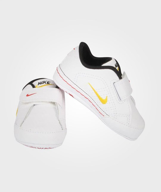 NIKE First Court Tradition Yellow White