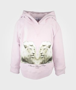 How To Kiss A Frog Basic Hood Pink+Lion