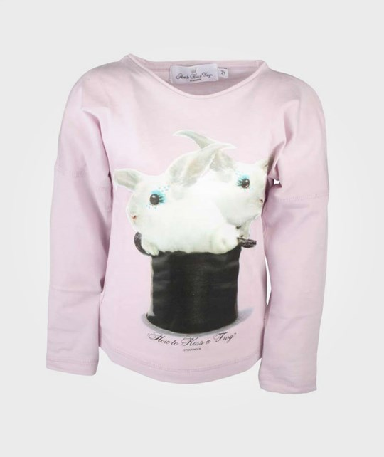 How To Kiss A Frog Basic T Rabbit Pink Pink