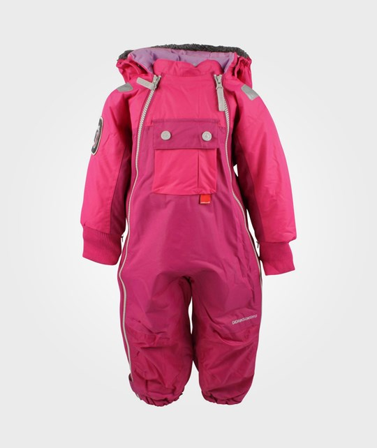 Didriksons Coso Coverall Fuchsia Pink